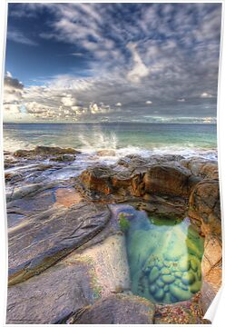 Emerald Pools Noosa by Adam Gormley