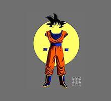 Sun Goku by pixelpraani