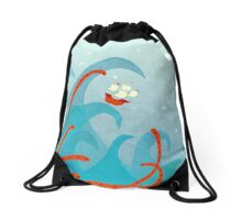 A Bad Day For Sailors Drawstring Bag