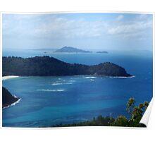 Carlisle Island - Whitsundays Qld Poster