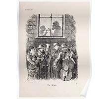 Cartoons by Sir John Tenniel selected from the pages of Punch 1901 0083 The Waits Poster