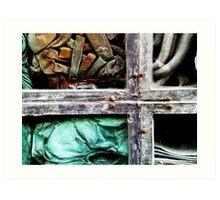 Green Building, Detail I Art Print