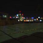 Brisbane City Skyline at night by rjmp