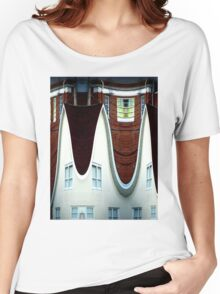 Above March Hare's House Women's Relaxed Fit T-Shirt