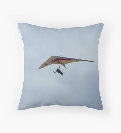 Hang Glider ~ La Jolla, California Throw Pillow