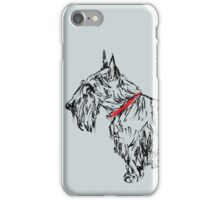 Pen & Ink Scottie iPhone Case/Skin