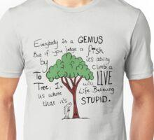 """""""Einstein's Fish"""" Unisex T-Shirt"""