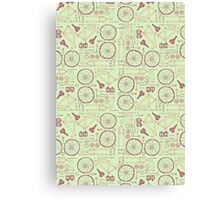 Bicycle Parts Canvas Print