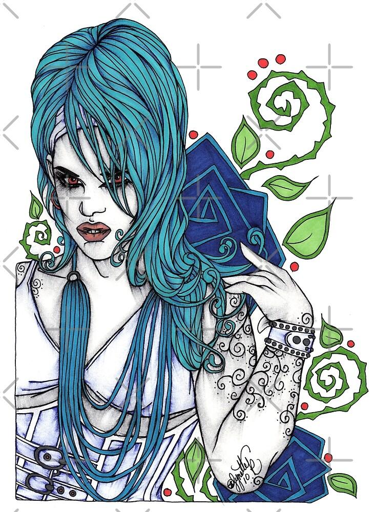 In Blue by Lynette K.