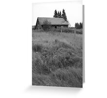Anderson's Lonely Barn Greeting Card