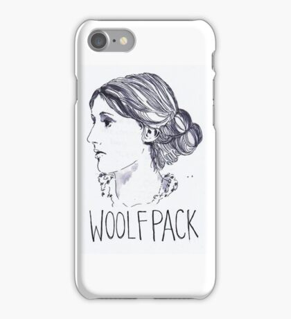 Virginia Woolfpack iPhone Case/Skin