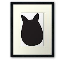 Mini Totoro (My Neighbor Totoro) Framed Print