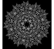 Abstract circular pattern Photographic Print