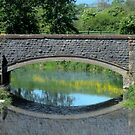 Bridge reflection. by Livvy Young