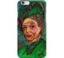 Dowager Countess iPhone Case/Skin