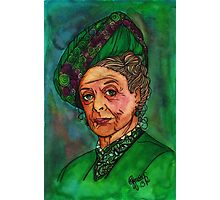 Dowager Countess Photographic Print