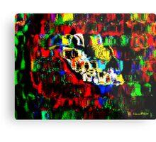 Blocks of Vibrant Color Metal Print