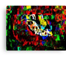 Blocks of Vibrant Color Canvas Print