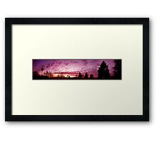 Downey, today 24 at Sunset Framed Print