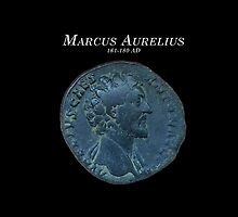 Ancient Roman Coin - MARCUS AURELIUS 161-180 by sixstringphonic