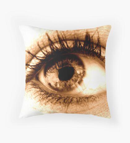 Sepia. Throw Pillow