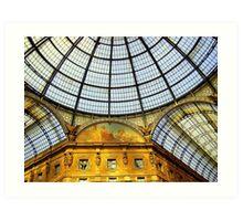 The Galleria Vittorio Emanuele II - Milan Art Print