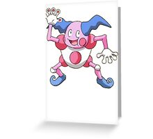 Mr. Mime Greeting Card
