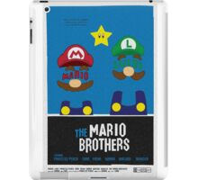 THE MARIO BROTHERS iPad Case/Skin