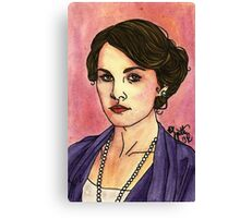 Lady Mary Canvas Print