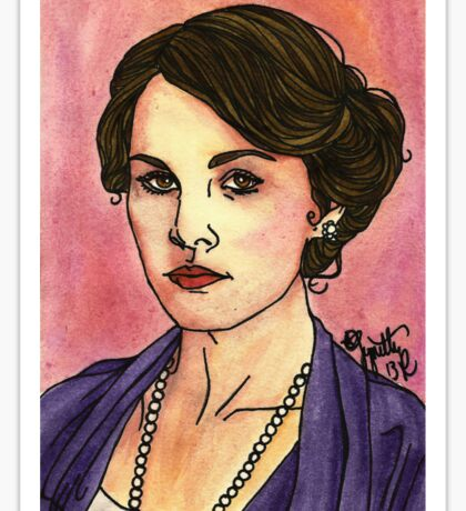 Lady Mary Sticker