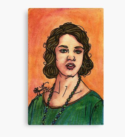 Lady Sybil Canvas Print