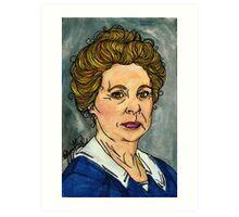 Isobel Crawley Art Print