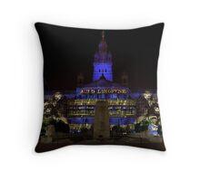 Robert Burns Illuminated  Throw Pillow