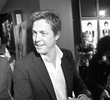 Hugh Grant by David Petranker
