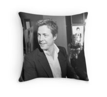 Hugh Grant Throw Pillow
