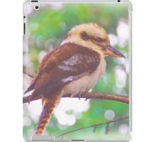 Kookaburra sitting in tree iPad Case/Skin