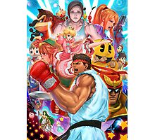 Ryu smash 4 Photographic Print