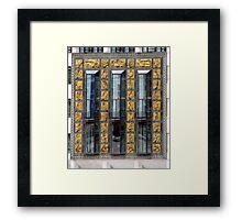London Deco: Hays Wharf/St Olaf House 3 Framed Print