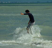Skimboard Splash by Karen Checca