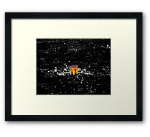 The Arc From The Eiffel Framed Print