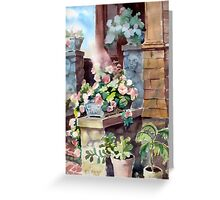 Entry to Visages Greeting Card