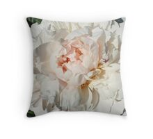 My Favorite Peony Throw Pillow