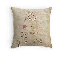 Harry Potter inspired Valentine. Throw Pillow