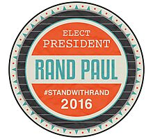 Vote Rand Paul 2016 Photographic Print