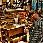 Watchmaker & Workbench by njordphoto