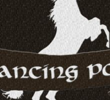 Prancing Pony Sticker