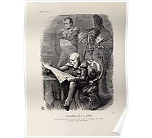 Cartoons by Sir John Tenniel selected from the pages of Punch 1901 0052 Versailles October Fifth 1870 Poster