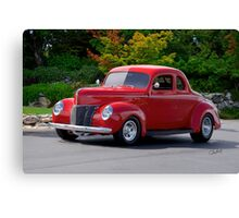 1940 Ford 'Deluxe' Coupe II Canvas Print