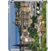 The East End of Edinburgh from the Castle iPad Case/Skin