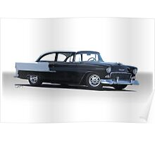1955 Chevrolet 'Post' Coupe 210 Poster